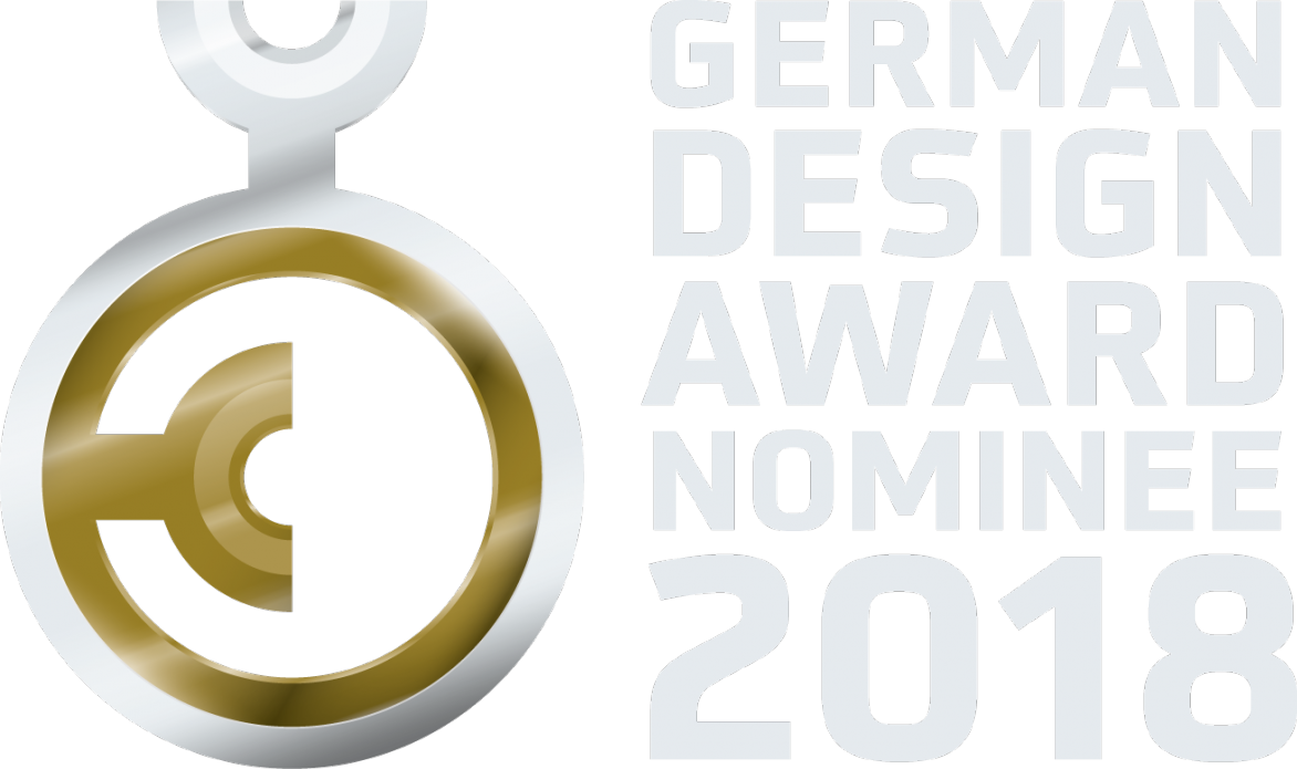 ... für den German Design Award 2018